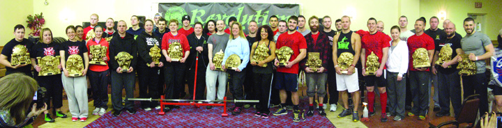 2013 9th Annual Christmas Carnage Sunday Lifters