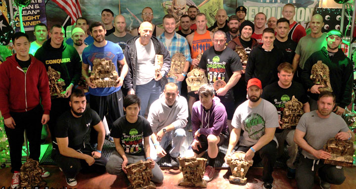 10th Annual Christmas Carnage Saturday PM Lifters