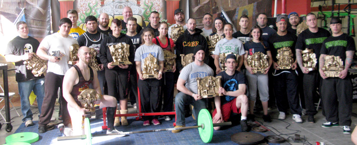 2014 Dominion Sunday Lifters