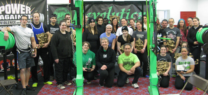 2014 New Engalnd Revolution Saturday AM LIfters
